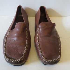 COLE HAAN TAN LEATHER LOAFER 11 1/2